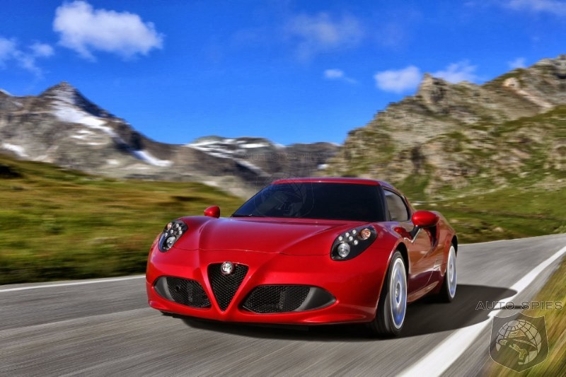 Alfa Romeo 4C Will Probably Bypass Fiat Dealerships And Be Sold Along Side Maseratis